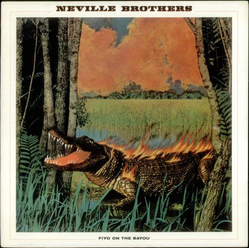The Neville Brothers Fiyo On The Bayou vinyl LP album (LP record) UK NVBLPFI543449