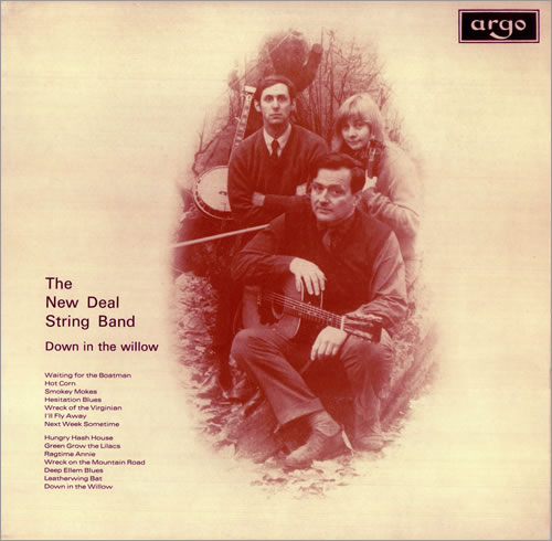The New Deal String Band Down In The Willow vinyl LP album (LP record) UK NWDLPDO452871