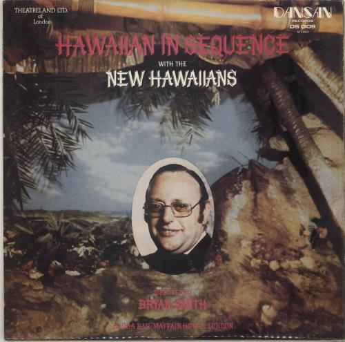 The New Hawaiians Hawaiian In Sequence vinyl LP album (LP record) UK ZNWLPHA718757