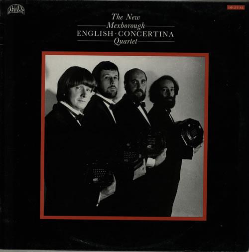 The New Mexborough English Concertina Quartet The New Mexborough English Concertina Quartet vinyl LP album (LP record) UK VR9LPTH567577