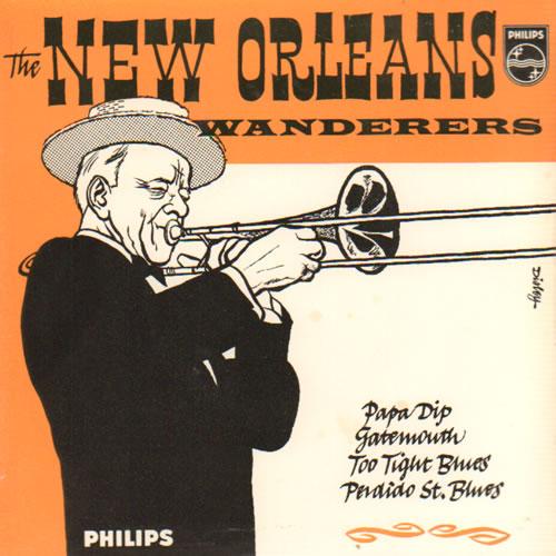 """The New Orleans Wanderers The New Orleans Wanderers 7"""" vinyl single (7 inch record) UK XQT07TH641795"""