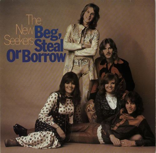The New Seekers Beg, Steal Or Borrow vinyl LP album (LP record) German NWKLPBE627965