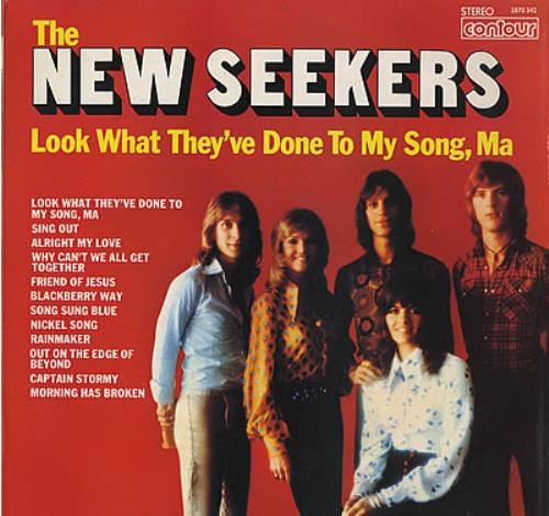The New Seekers Look What They Ve Done To My Song Ma Uk