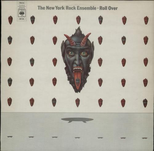 The New York Rock Ensemble Roll Over vinyl LP album (LP record) UK ENSLPRO490295