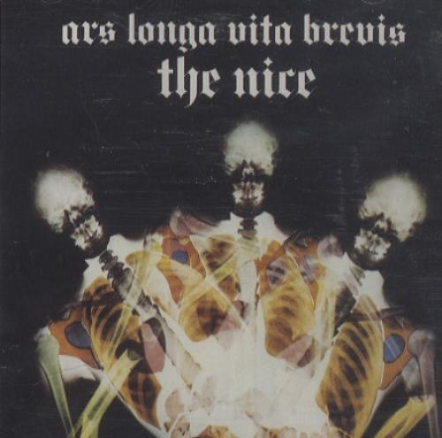 The Nice Ars Longa Vita Brevis CD album (CDLP) UK NCECDAR260156