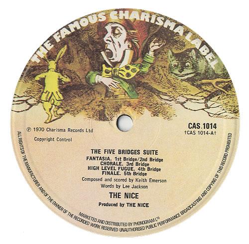 The Nice Five Bridges - 2nd vinyl LP album (LP record) UK NCELPFI436855