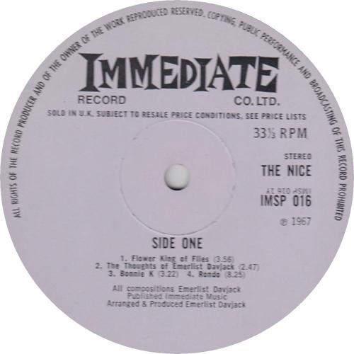 The Nice The Thoughts Of Emerlist Davjack - 1st vinyl LP album (LP record) UK NCELPTH86668