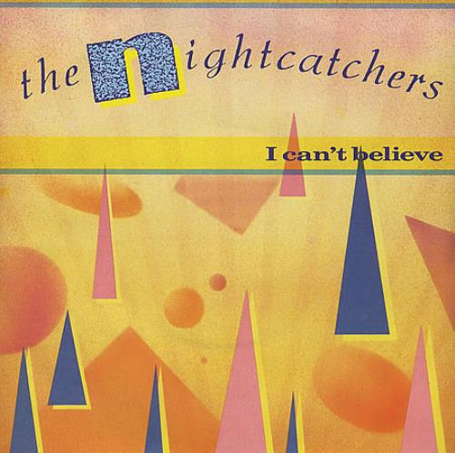 "The Nightcatchers I Can't Believe 7"" vinyl single (7 inch record) UK NGC07IC193086"