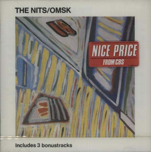 The Nits OMSK CD album (CDLP) Dutch UJ7CDOM599819