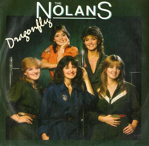 "The Nolans Dragonfly 7"" vinyl single (7 inch record) UK NOL07DR171972"