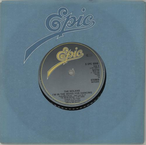 """The Nolans I'm In The Mood For Dancing 7"""" vinyl single (7 inch record) UK NOL07IM687489"""