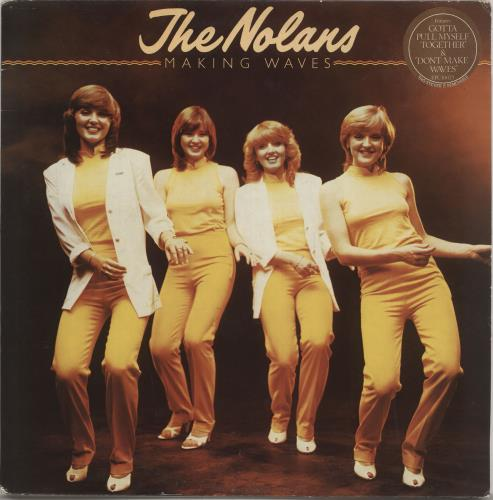 The Nolans Making Waves vinyl LP album (LP record) UK NOLLPMA551644