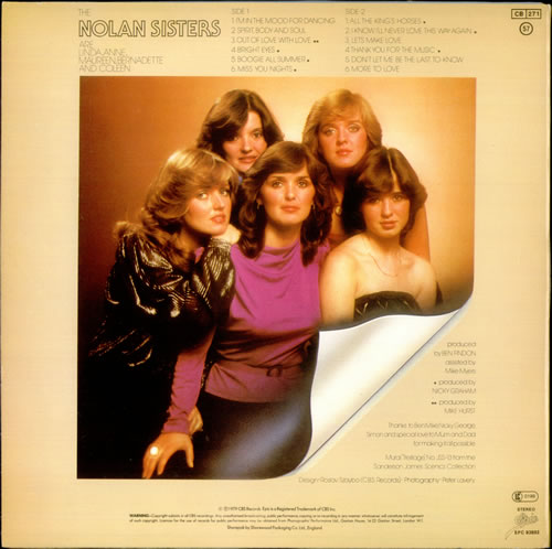 The Nolans The Nolan Sisters vinyl LP album (LP record) UK NOLLPTH532115