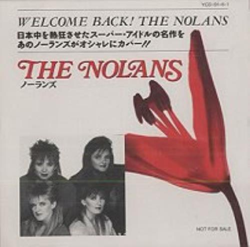 The Nolans Welcome Back The Nolans CD album (CDLP) Japanese NOLCDWE144752
