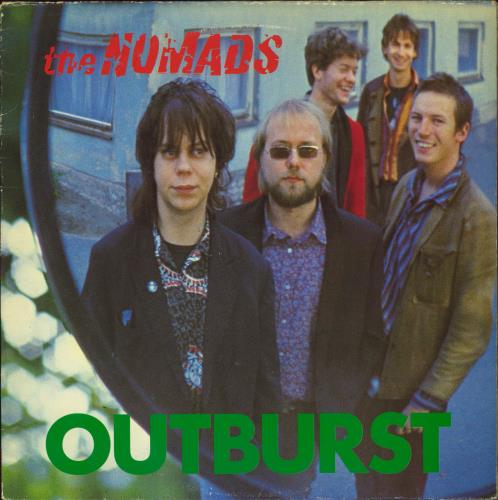 The Nomads Outburst vinyl LP album (LP record) UK U86LPOU552000