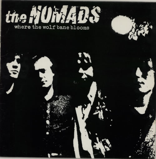 The Nomads Where The Wolf Bane Blooms vinyl LP album (LP record) Swedish U86LPWH592661