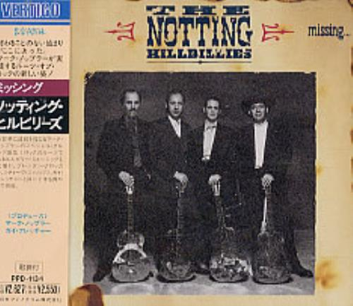 The Notting Hillbillies Missing... CD album (CDLP) Japanese NOTCDMI118615