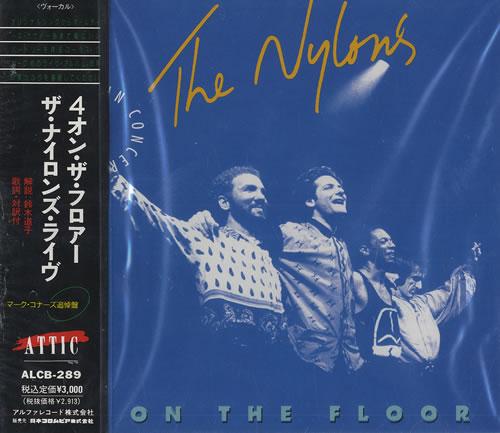 The Nylons 4 On The Floor CD album (CDLP) Japanese T57CDON465905