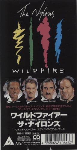 """The Nylons Wildfire 3"""" CD single (CD3) Japanese T57C3WI543576"""