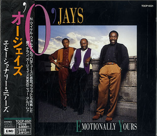 The O'Jays Emotionally Yours CD album (CDLP) Japanese OJYCDEM608985