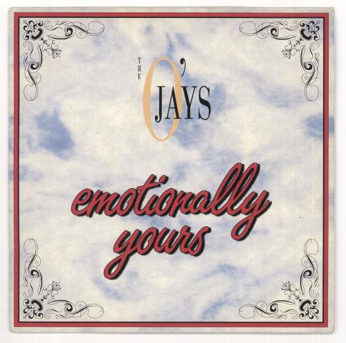 "The O'Jays Emotionally Yours 7"" vinyl single (7 inch record) UK OJY07EM719748"