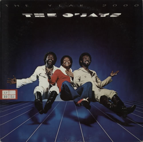 The O'Jays The Year 2000 vinyl LP album (LP record) Japanese OJYLPTH616894