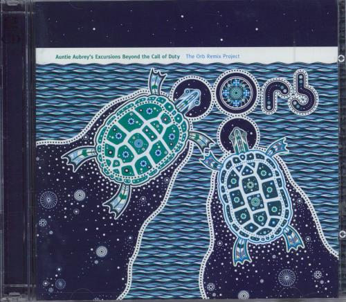 The Orb Auntie Aubrey's Excursions Beyond The Call Of Duty 2 CD album set (Double CD) UK ORB2CAU219089
