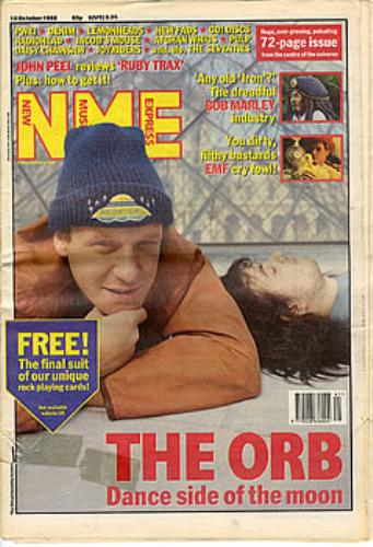The Orb NME - New Musical Express UK magazine (297681) 10 OCTOBER 1992