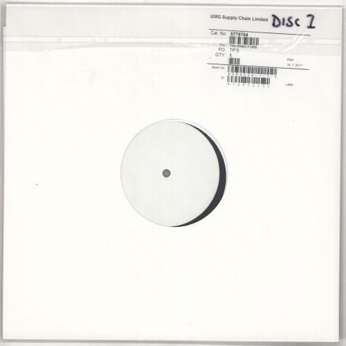 The Orb U.F. Orb - White Label Test Pressing 2-LP vinyl record set (Double Album) UK ORB2LUF728195