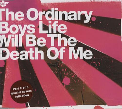The Ordinary Boys Life Will Be The Death Of Me 2-CD single set (Double CD single) UK TOA2SLI333798