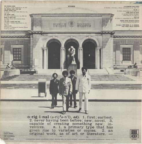 The Originals Definitions vinyl LP album (LP record) US T.OLPDE689120