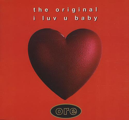The Original I Luv U Baby Uk Cd Single Cd5 5 191681