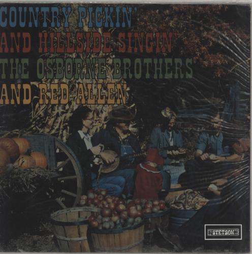 The Osborne Brothers Country Pickin' And Hillside Singin' vinyl LP album (LP record) UK UZKLPCO763140
