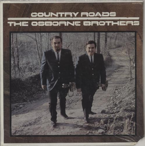 The Osborne Brothers Country Roads vinyl LP album (LP record) US UZKLPCO763145