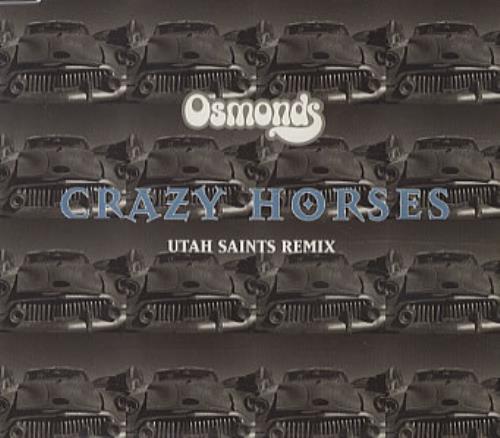 """The Osmonds Crazy Horses CD single (CD5 / 5"""") UK OSDC5CR65805"""