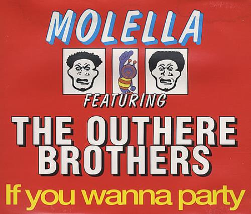 """The Outhere Brothers If You Wanna Party CD single (CD5 / 5"""") German OUBC5IF260576"""