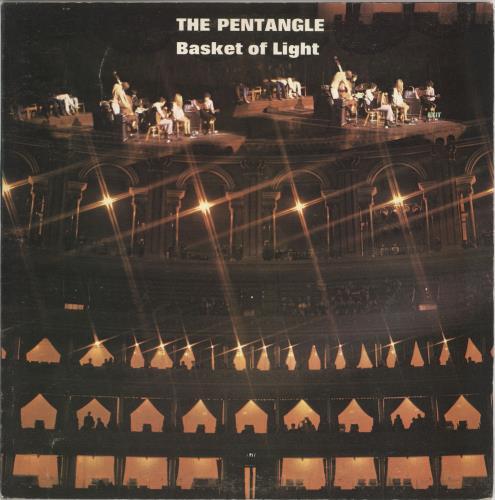 The Pentangle Basket Of Light - 2nd - EX vinyl LP album (LP record) UK PNTLPBA544060