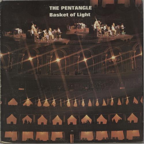 The Pentangle Basket Of Light - 2nd - VG vinyl LP album (LP record) UK PNTLPBA676226