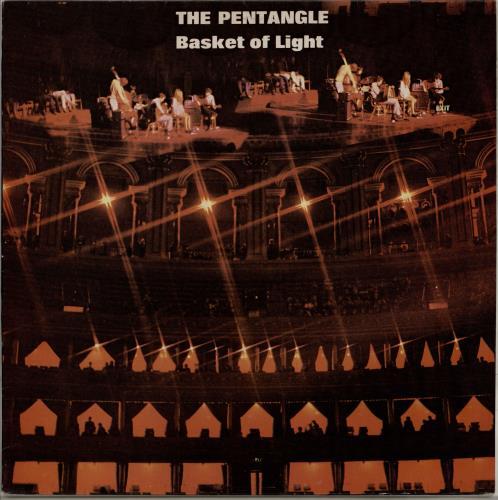 The Pentangle Basket Of Light vinyl LP album (LP record) UK PNTLPBA744395