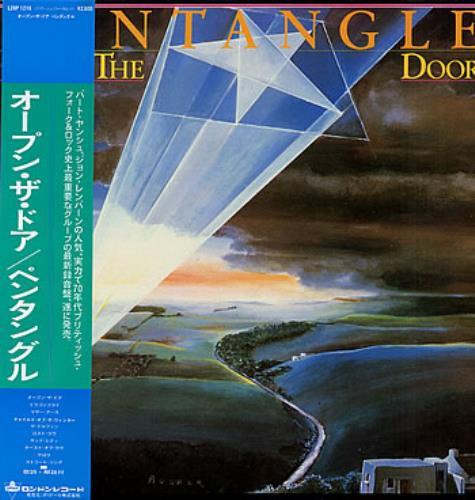The Pentangle Open The Door vinyl LP album (LP record) Japanese PNTLPOP299975