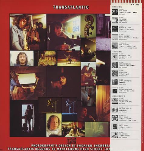 The Pentangle Reflection vinyl LP album (LP record) Japanese PNTLPRE358386