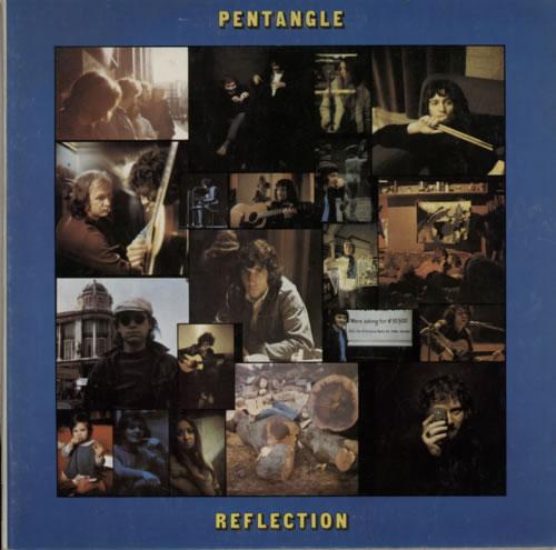 The Pentangle Reflection vinyl LP album (LP record) New Zealand PNTLPRE612101
