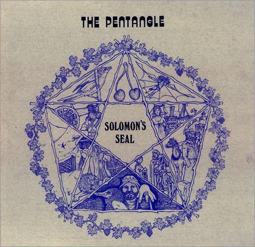 The Pentangle Solomon's Seal - 1st vinyl LP album (LP record) UK PNTLPSO189592