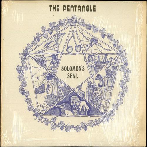The Pentangle Solomon's Seal vinyl LP album (LP record) US PNTLPSO141050