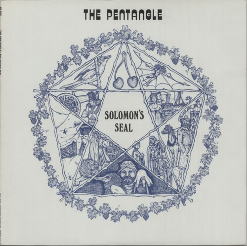 The Pentangle Solomon's Seal vinyl LP album (LP record) US PNTLPSO598809