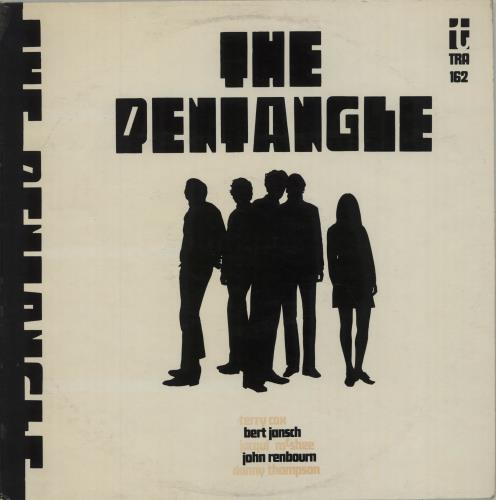 The Pentangle The Pentangle - 1st - EX vinyl LP album (LP record) UK PNTLPTH467616