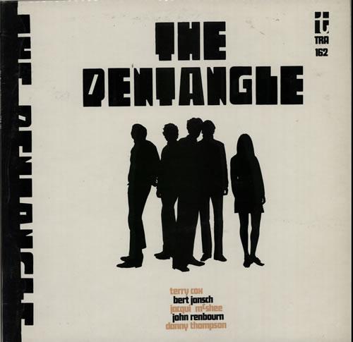 The Pentangle The Pentangle - 2nd vinyl LP album (LP record) UK PNTLPTH583973