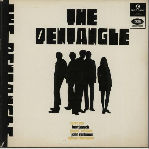 The Pentangle The Pentangle - one box vinyl LP album (LP record) New Zealand PNTLPTH654116