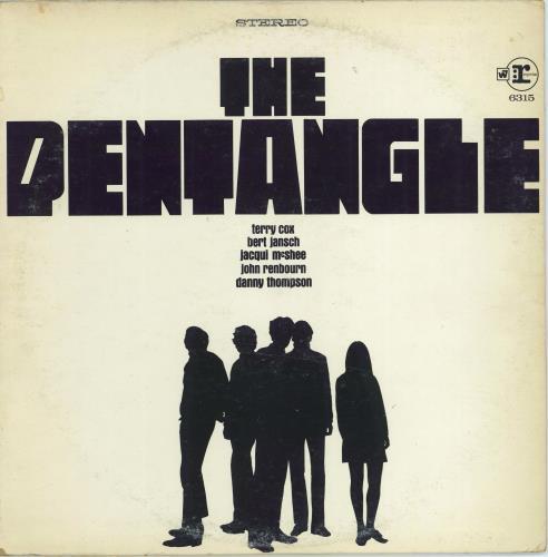 The Pentangle The Pentangle - Promo vinyl LP album (LP record) US PNTLPTH772383