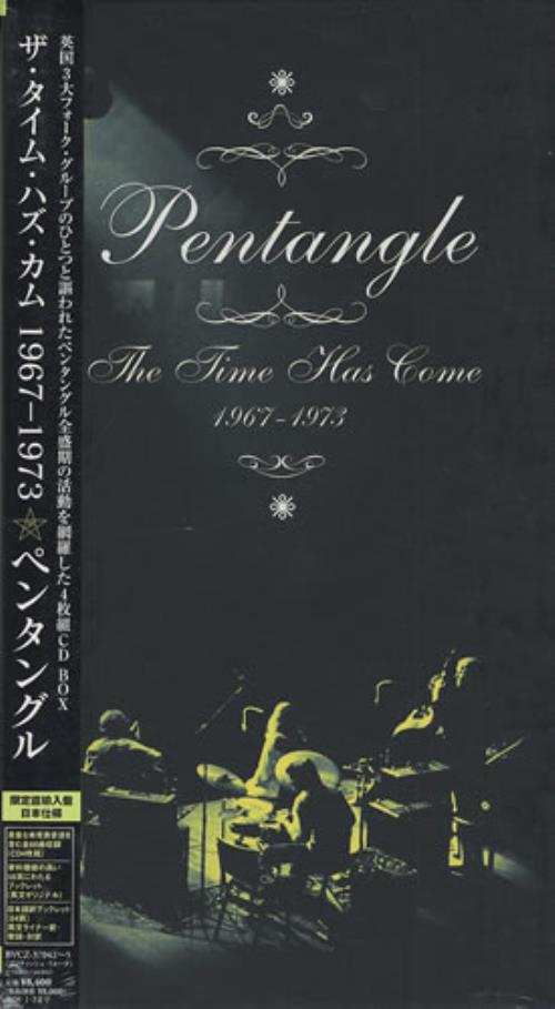The Pentangle The Time Has Come 1967-1973 4-CD album set Japanese PNT4CTH401990